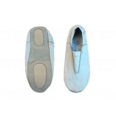 Чешки гимнастические кожаные, цвет белый, р-р 39.