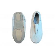 Чешки гимнастические кожаные, цвет белый, р-р 36.