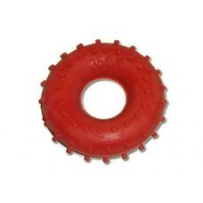 Эспандер кистевой кольцо с шипами, резина , нагрузка  35кг, индивидуальная упаковка.