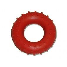 Эспандер кистевой кольцо с шипами, резина, нагрузка  25кг, индивидуальная упаковка. :(ST004):