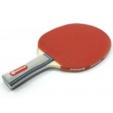 Ракетка Ping Pong для начинающих игроков. Однослойная с мягкой губкой. Форма ручки: коническая. :(Н0