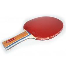 Ракетка для игры в настольный тенис Sprinter 1*, для начинающих игроков. Скорость: 6 Вращение: 6 Кон