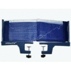 Сетка для н/т , синего цвета (с металлическими стойками в коробке). :(Р304/Р87-2):