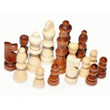 Фигуры шахматные (лакированные, деревянные): 3.0