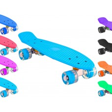 Скейт со светящимися колёсами: S-209
