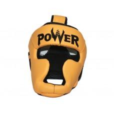 Шлем боксёрский закрытый, индивидуальная упаковка. Материал: кожзаменитель. Усиленная защита области