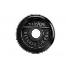 Диск для штанги стальной, цельнометаллический, обрезиненный. Диаметр внутренний 26 мм. Вес 0,5 кг.