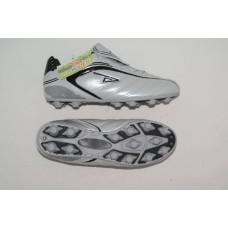 Бутсы футбольные , резина, круглые шипы. Цвет белый, размер 44 :(AX3100):