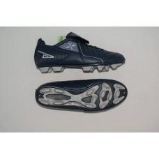 Бутсы футбольные , резина, овальные шипы. Цвет синий, размер 44 :(AX6160):