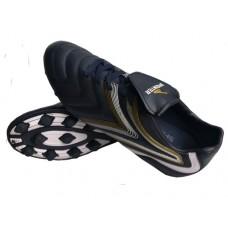 Бутсы футбольные SPRINTER , верх - PVC, подошва - резина, круглые шипы, р-р 45. Цвет: тёмно-синий+бе