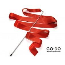 Лента гимнастическая с палочкой. Цвет красный: PD-02-К