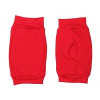 Наколенник для гимнастики и танцев ИНДИГО, р.L, цвет красный  (материал: трикотаж, поролон) :(к):