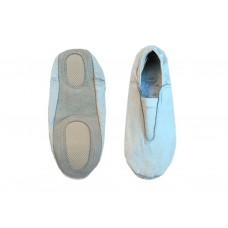 Чешки гимнастические кожаные, цвет белый, р-р 41.